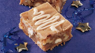 White Chip-Caramel Bars