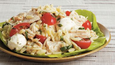 Orzo with Chicken and Fresh Herbs