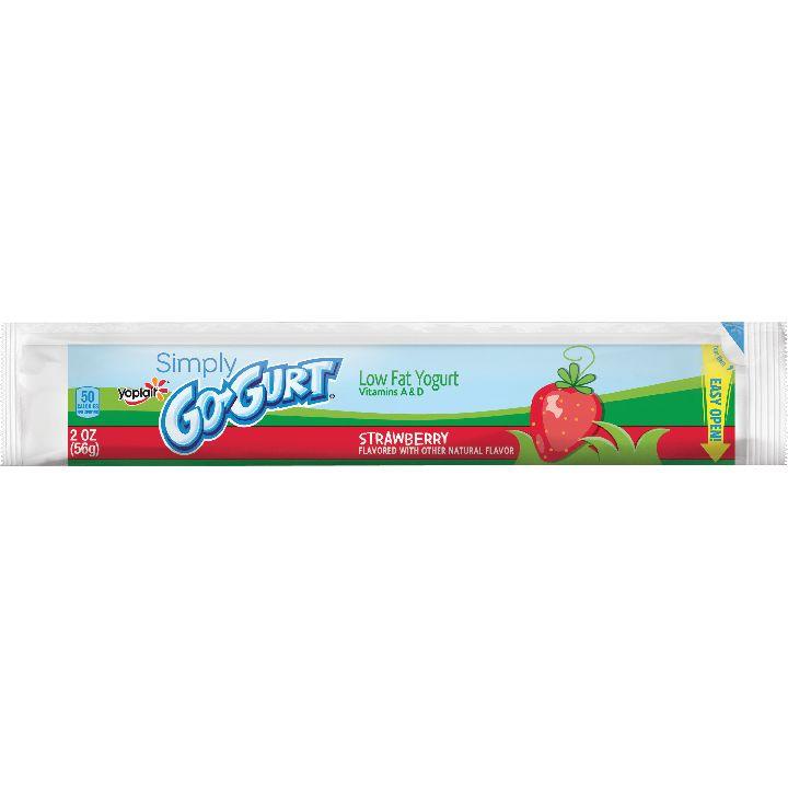 Yoplait® Yogurt Simply... Go-Gurt® Strawberry 2oz | General Mills Convenience and Foodservice