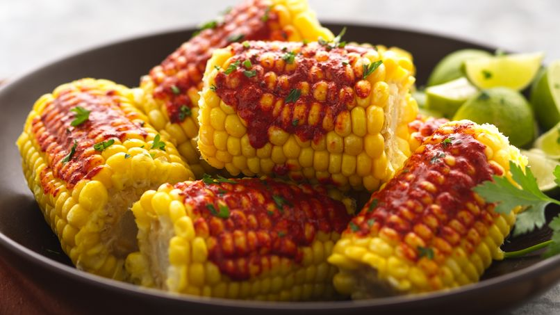 Achiote Corn-on-the-Cob