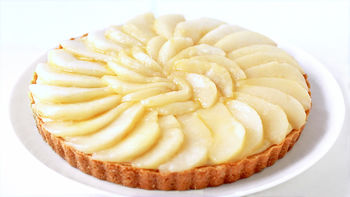 French Pear Tart