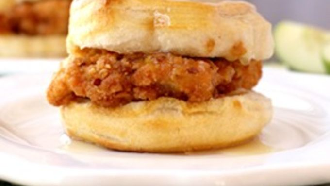 Spicy Southern Chicken Biscuits