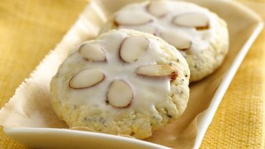 Almond Poppy Tea Cookies