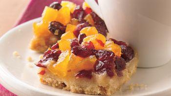 Cranberry-Apricot Bars