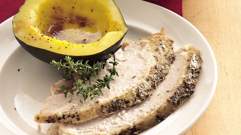 Slow-Cooker Herbed Turkey Breast