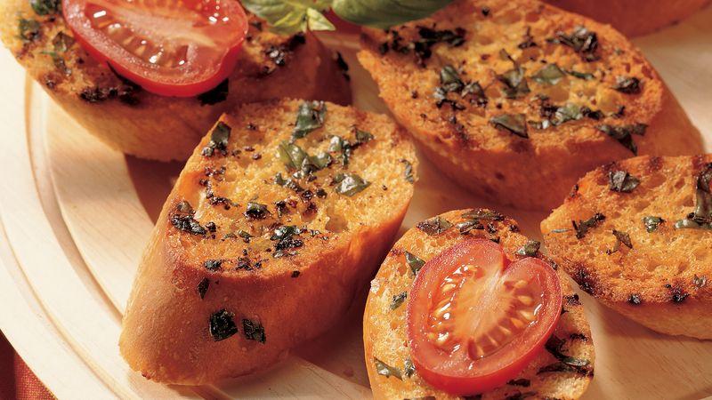 Grilled Bruschetta