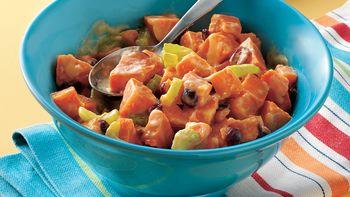 Orange-Honey-Sweet Potato Salad