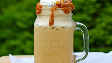 Iced Coffee with Dulce de Leche