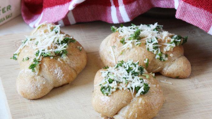 Parmesan-Garlic Knots
