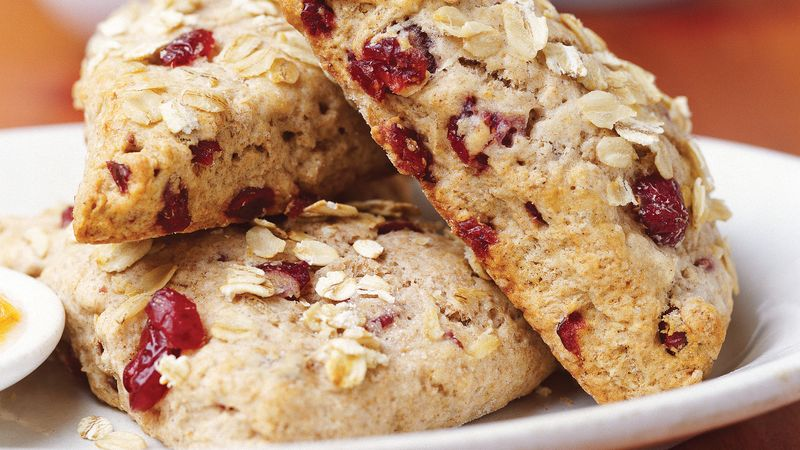 Skinny Cranberry-Buttermilk Scones