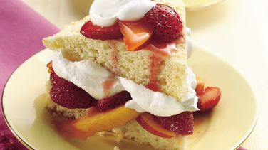 Strawberry and Nectarine Shortcakes