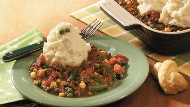 Ghostly Shepherd's Pie