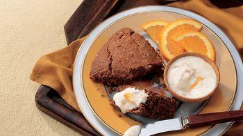 Chocolate-Almond Scones