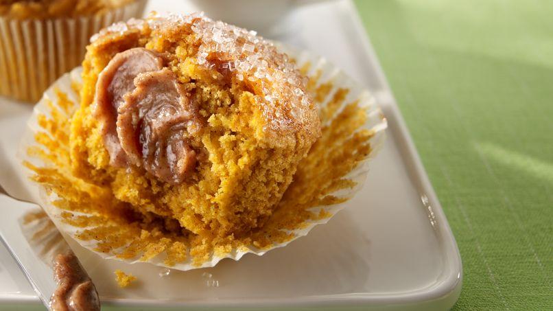 Muffins Burbujeantes de Calabaza