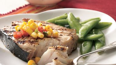 Cajun Grilled Fish Steaks