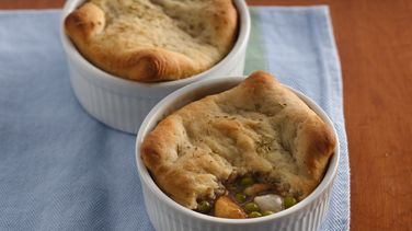 Mediterranean Chicken Pot Pies