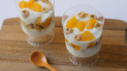 Yoplait® Greek Peach Cups