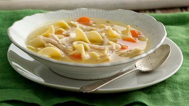 Easy Chicken-Leftover Turkey Soup