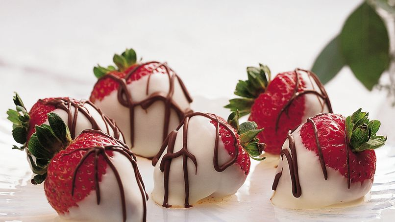 Fresas con Chocolate Blanco