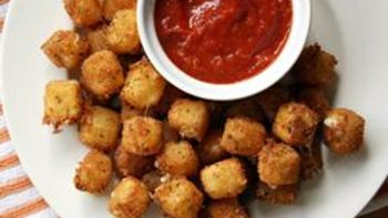 Fried Mozzarella Cheese Balls