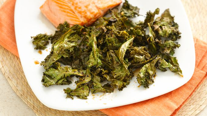 Gluten-Free Spicy Asian Roasted Kale