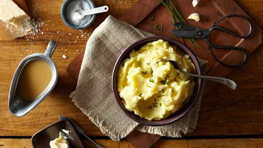 Garlic-Parmesan Mashed Potatoes