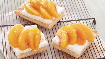French Peach Tart