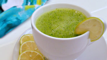 Smoothie de Té Verde y Yogurt Griego
