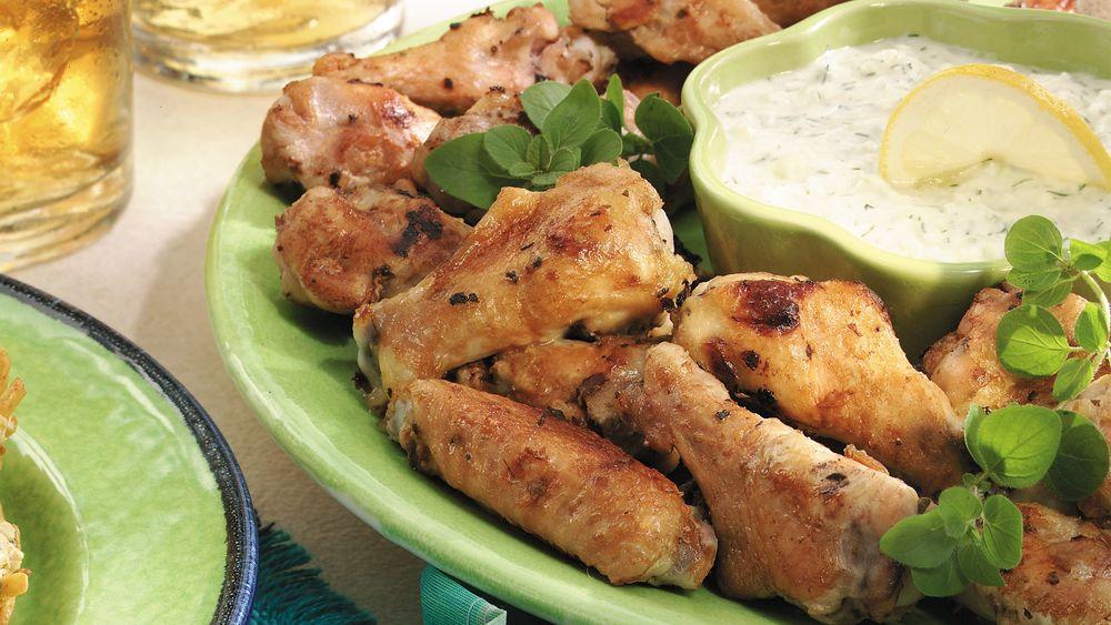 Greek Chicken Drummettes