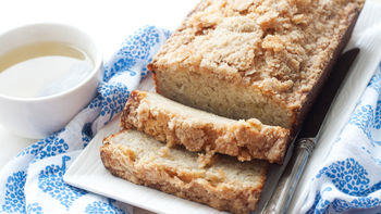 Streusel-Topped Banana Bread