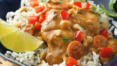 Slow-Cooker Thai Peanut Chicken