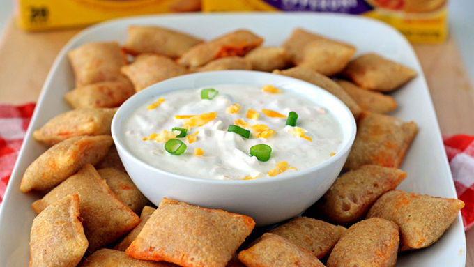 5-Minute Pizza Roll Dip