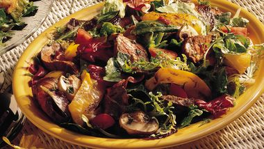 Grilled Argentine Steak Salad
