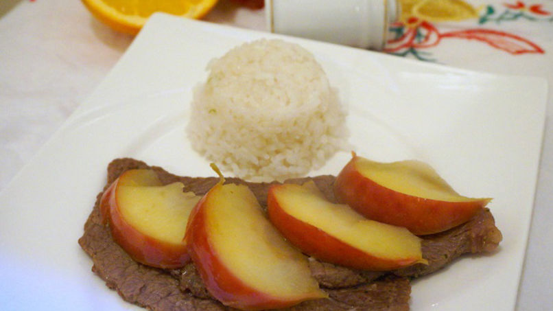 Beef with Apples