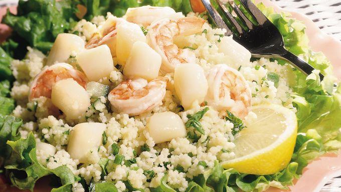 Seafood Couscous Salad