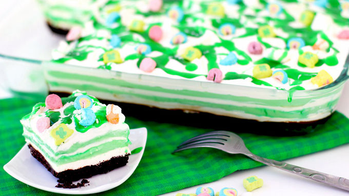 Shamrock Shake Cheesecake
