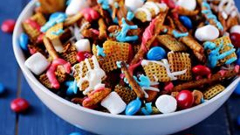 Red White and Blue Chex Mix™