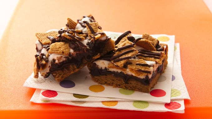 S'mores Peanut Butter Bars