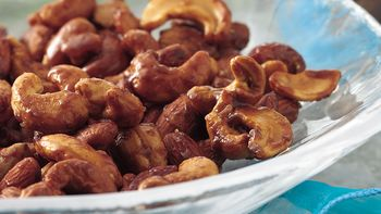 Honey-Cardamom Mixed Nuts