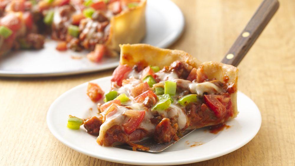Gluten-Free Chicago Deep Dish Pizza