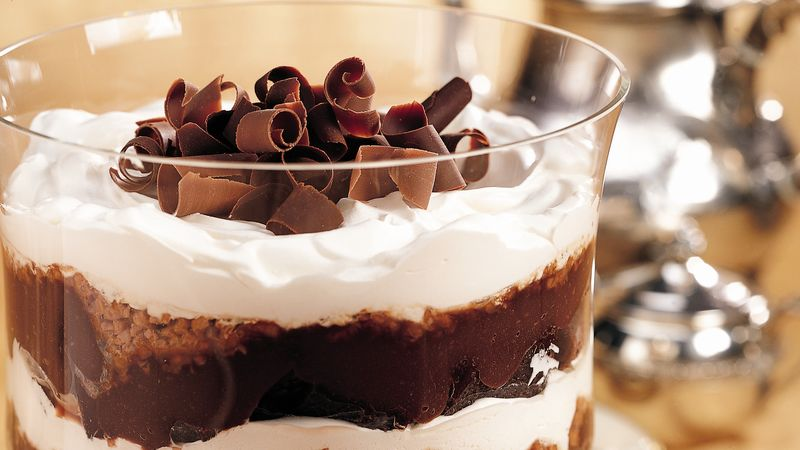 Classic Fudgy Brownie Trifle