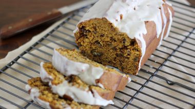 Pumpkin Pecan Cookie Butter Bread