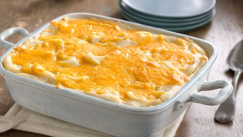 Easy Mashed Potato Casserole