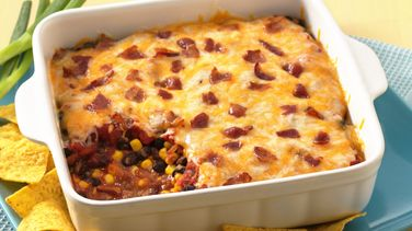 Bean and Bacon Fiesta Dip