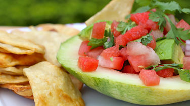 Watermelon and Avocado Sauce