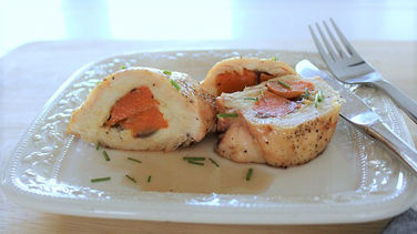 Sweet Potato Stuffed Chicken Breast