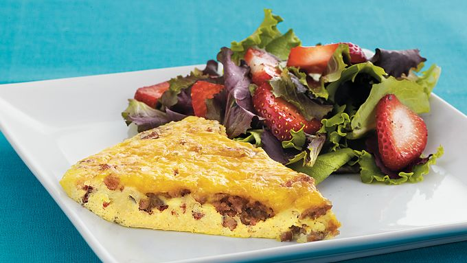 Sausage and Cheese Frittata recipe - from Tablespoon!