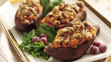Twice-Baked Sweet Potatoes