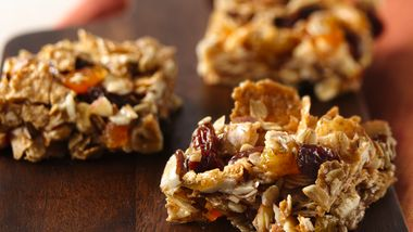 No-Bake Oatmeal Bars