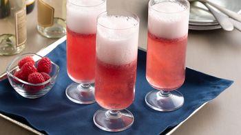 Sorbet Champagne Cocktail